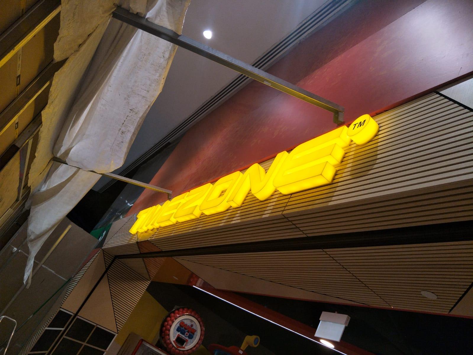 Timezone LED Signage