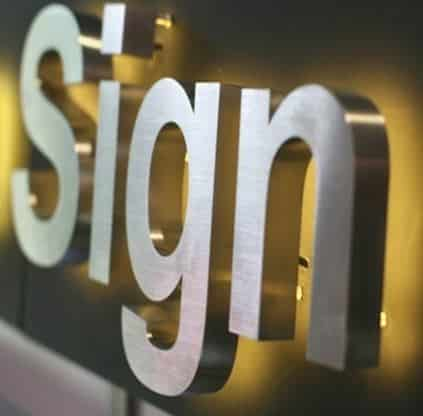 Affordable sign printing services around Singapore