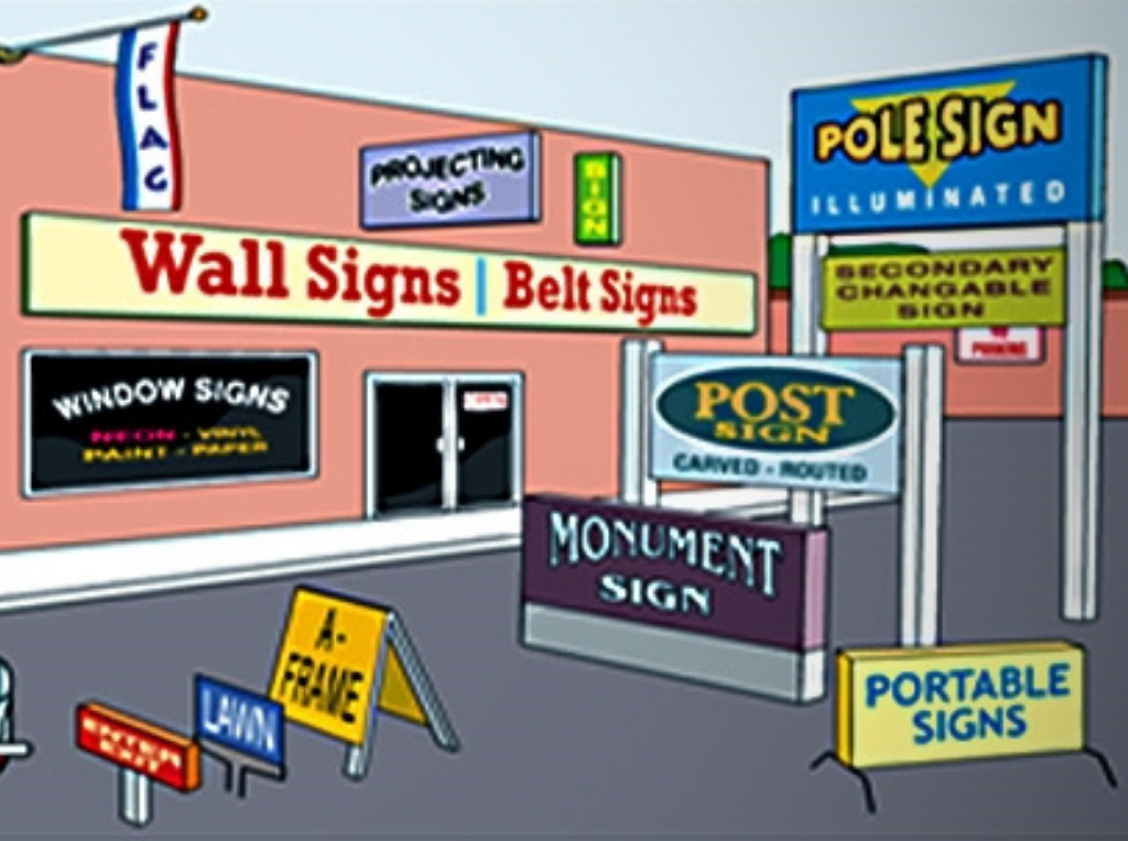 How to Choose from Different Types of Signages?