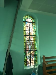 Church Tinted Glass Sticker Budget-Friendly and Nice