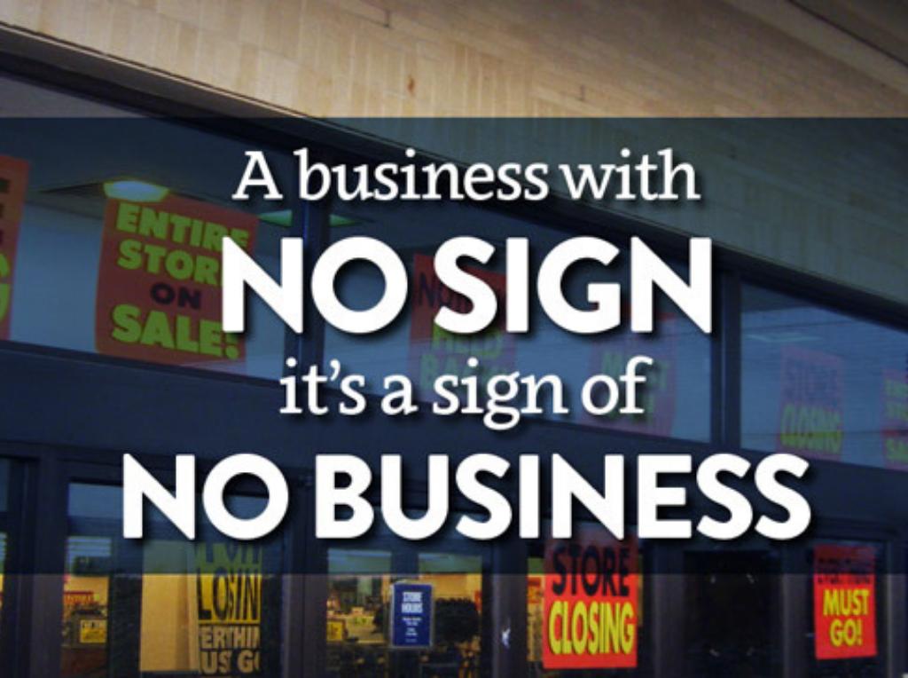 Importance of Signage